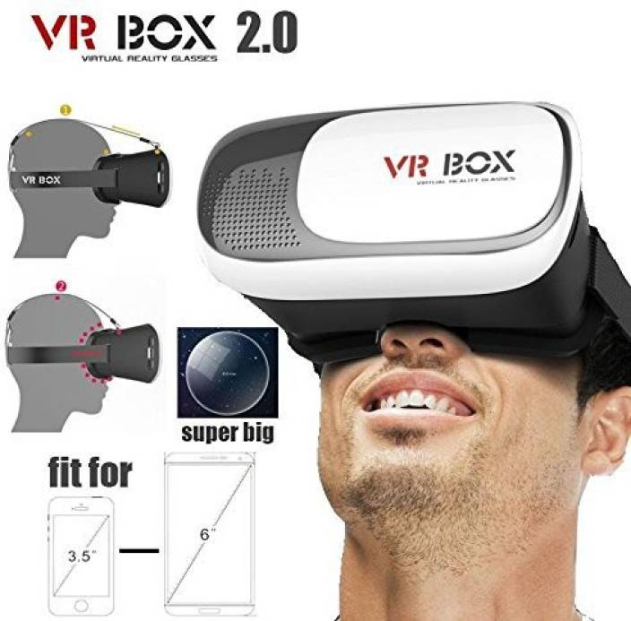 9d5f61a52b91 Emeret VR Box Virtual Reality Headsets with ultra - superior quality  polished HD optical lenses 3d glasses for mobile