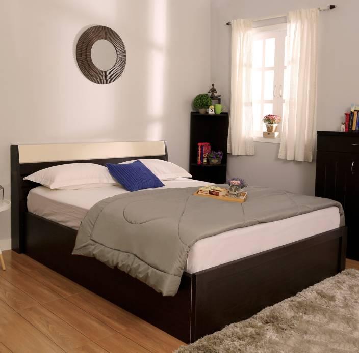 Spacewood Marko Engineered Wood Queen Bed With Storage