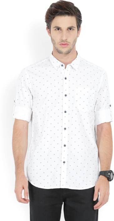 Highlander Men's Printed Casual Shirt