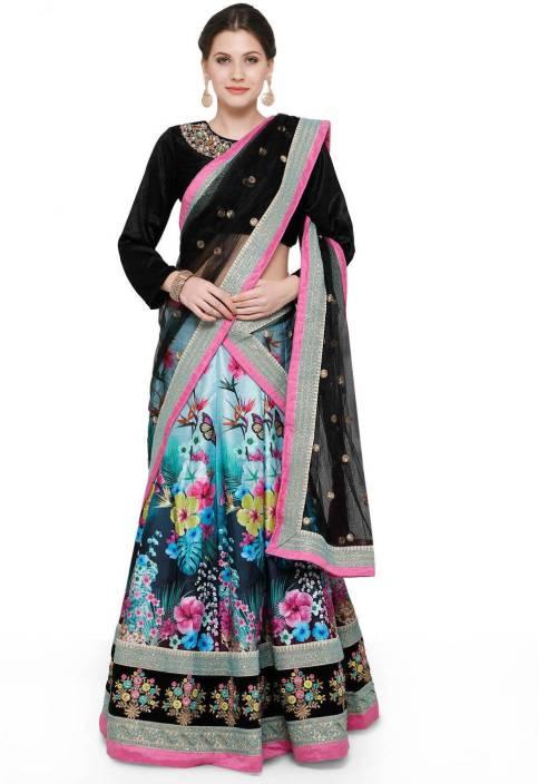 Zeel Clothing Floral Print, Embroidered, Embellished Women