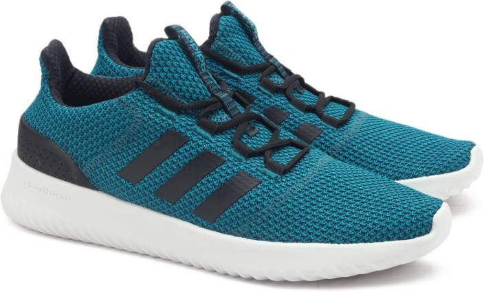 sale retailer 12027 28698 ADIDAS NEO CLOUDFOAM ULTIMATE Running Shoes For Men (Blue, Black)