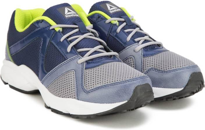 dfa07789f REEBOK THUNDER RUN Running Shoes For Men - Buy SHDW BLUE YELLOW ...
