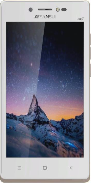 Sansui Horizon 1 (White, Golden, 8 GB)