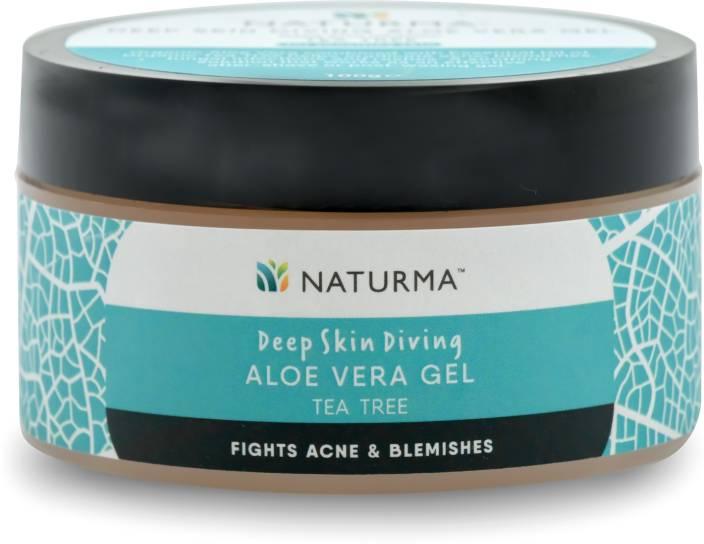 naturma deep skin diving aloe vera gel organic tea tree price in