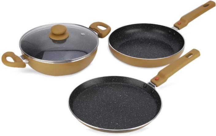Prestige Omega Festival Pack Build Your Kitchen Set Induction Bottom Cookware Set