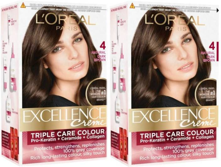Loreal Paris Excellence Cream Hair Color Price In India Buy L