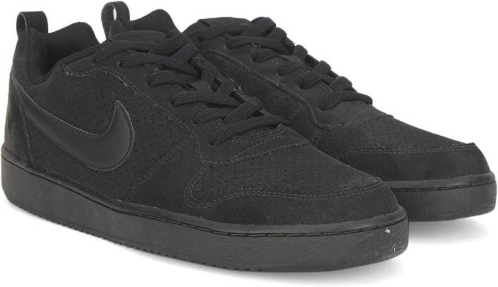 475640d94a7af5 Nike COURT BOROUGH LOW Sneakers For Men - Buy BLACK   BLACK - BLACK ...