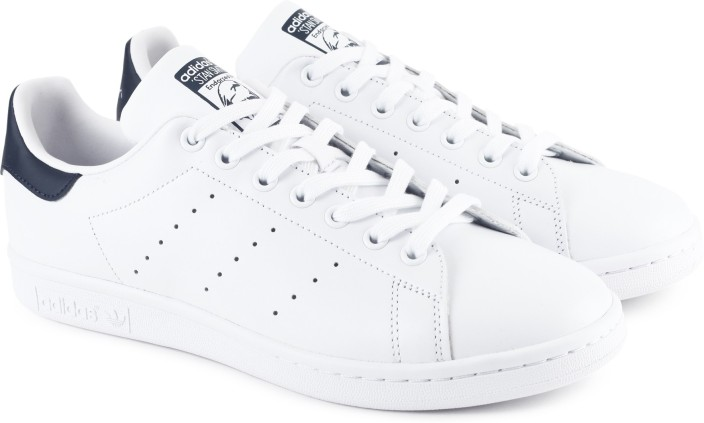7b322895 coupon for men adidas stan smith white blue c64bb bddc3