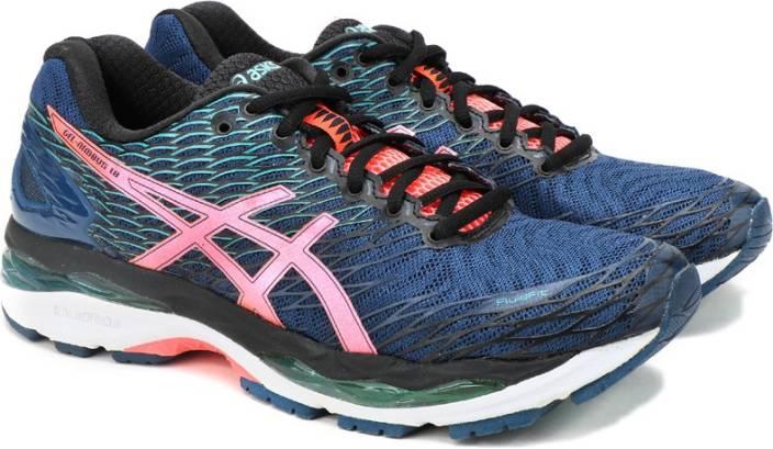 Asics GEL-NIMBUS 18 Running Shoes For Women - Buy POSEIDON FLASH ... 2d3ea4bad0
