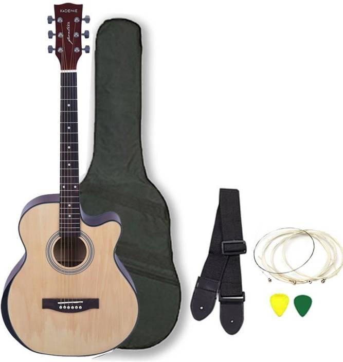 Kadence KAD-Q10-NAT-EQ-SC Spruce Acoustic Guitar