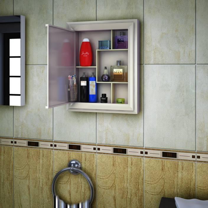 Nilkamal Gem Mirror Plastic Wall Mount Cabinet Price In
