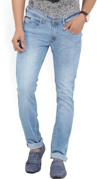 Peter England University Skinny Men's Blue Jeans