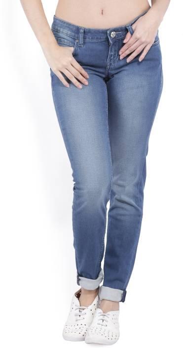 Lee Slim Womenu0026#39;s Blue Jeans - Buy SPRAYED MS Lee Slim Womenu0026#39;s Blue Jeans Online at Best Prices ...
