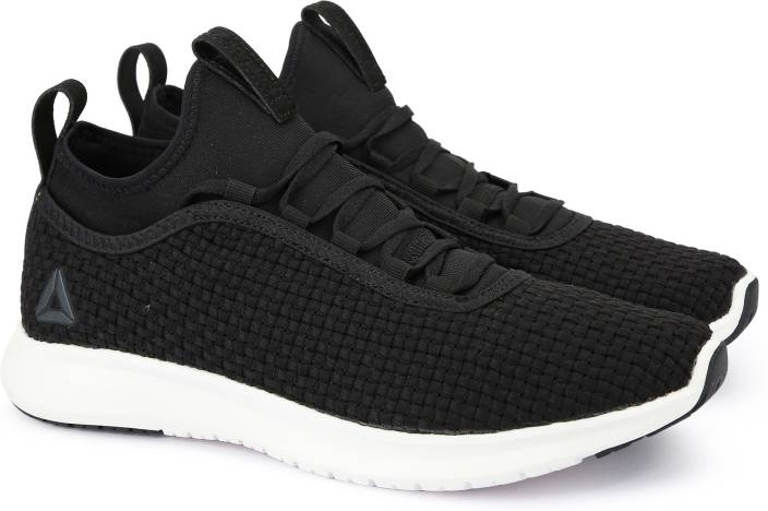 REEBOK PLUS RUNNER WOVEN Running Shoes For Men - Buy BLACK CHALK ... 5746155237ca