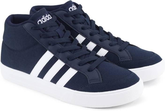 892d68be8ddc5 ADIDAS NEO VS SET MID Tennis Shoes For Men - Buy CONAVY/FTWWHT ...