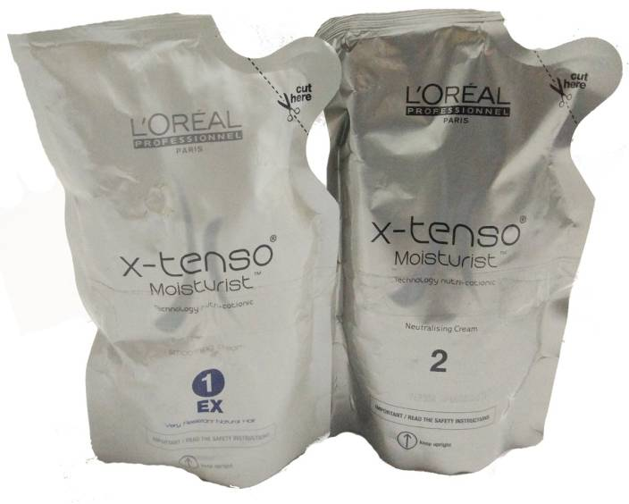 L'Oreal Paris Paris X-Tenso Moisturist hair straightening cream + Neutraliser
