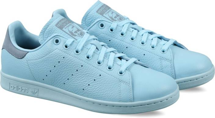 free shipping 68988 7e1af ADIDAS ORIGINALS STAN SMITH Sneakers For Men (Blue)