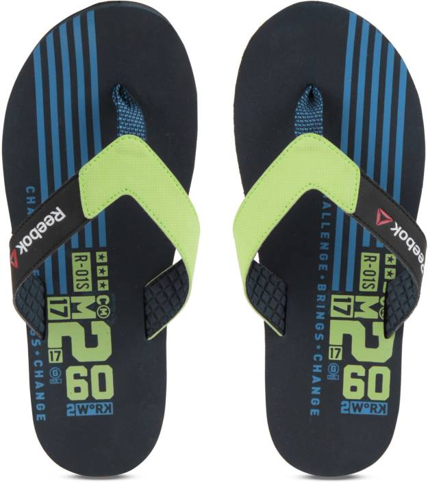 6ecd34157 REEBOK GRAPH FLIP Flip Flops - Buy NAVY GREEN BLK BLUE Color REEBOK GRAPH FLIP  Flip Flops Online at Best Price - Shop Online for Footwears in India ...