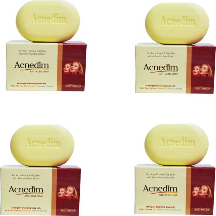 pack Of 3 Bar Soaps Richfeel Ayurvedic Anti Acne Soap With Calendula Extracts 75gm