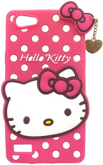 new product 4b207 1b9a8 NIK TECH ONLINE Back Cover for Hello Kitty Oppo Neo 7