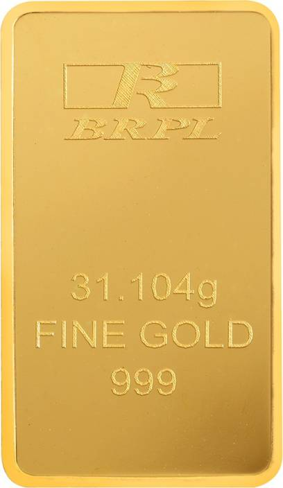 Bangalore Refinery 24 (999) K 31.104 g Gold Bar