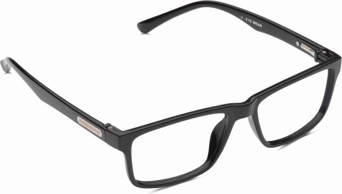 f01cf821517 U Eyewear Full Rim Wayfarer Frame Price in India - Buy U Eyewear ...