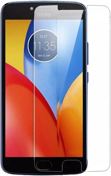 BigChoice Tempered Glass Guard for Motorola Moto E4 Plus