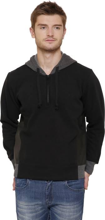Maggivox Full Sleeve Solid Men's Sweatshirt