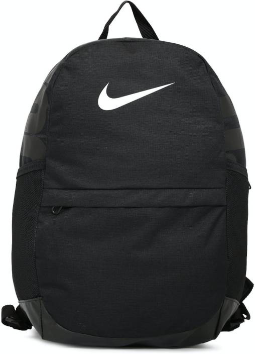 ef06fd7a052d Nike Brasilia 20 L Backpack Black - Price in India