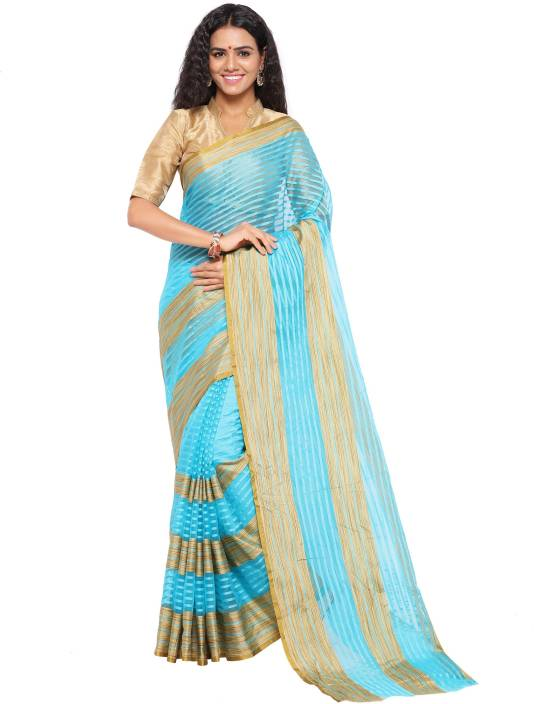 sarngin boutique Woven Kanjivaram Art Silk Saree