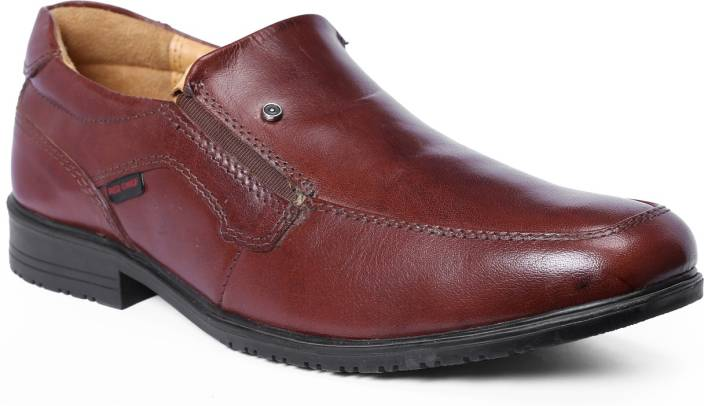 Red Chief Brown Corporate Casuals For Men