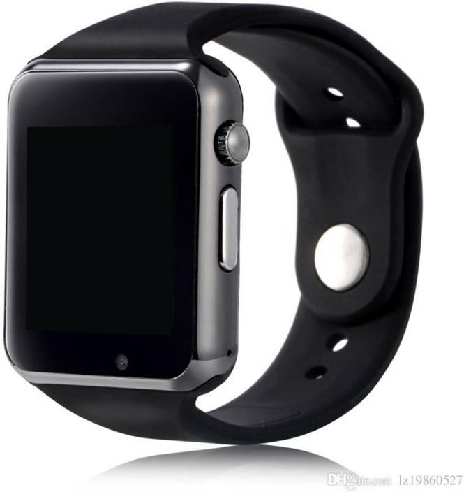 e61961c3c0 SUNRISE A1 BLACK SMART WATCH BLACK Smartwatch Price in India - Buy ...