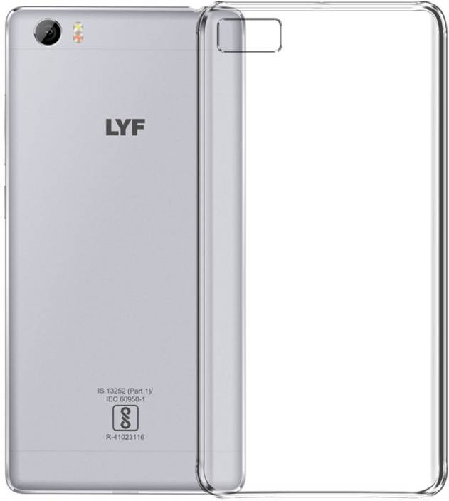 best authentic 6579f b48c1 Deltakart Back Cover for LYF Water F1S