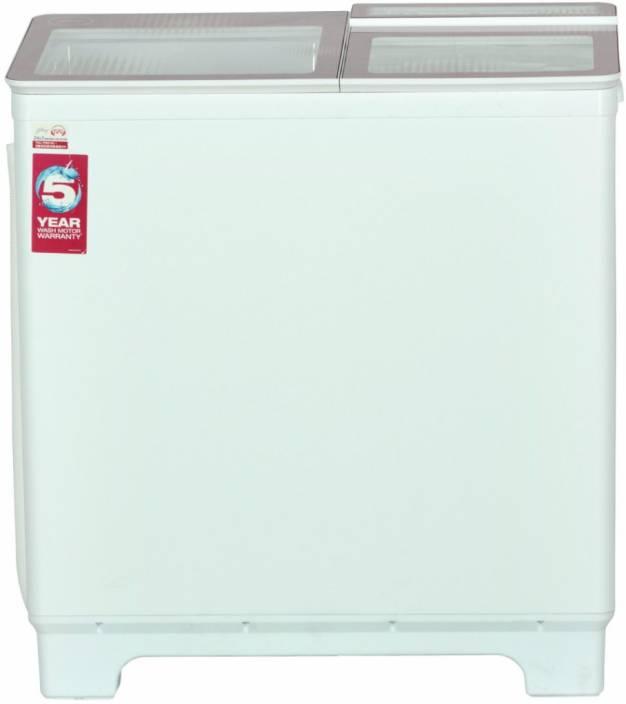 Godrej 8 kg Semi Automatic Top Load Washing Machine Pink, White