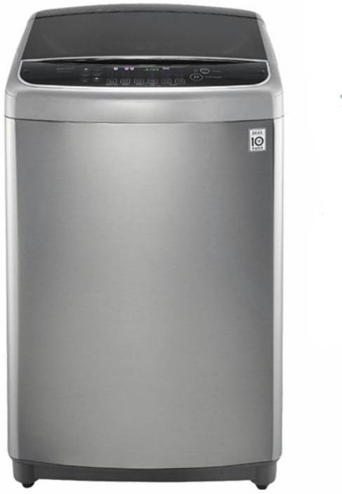 LG 9 kg Fully Automatic Top Load Washing Machine Silver, Black