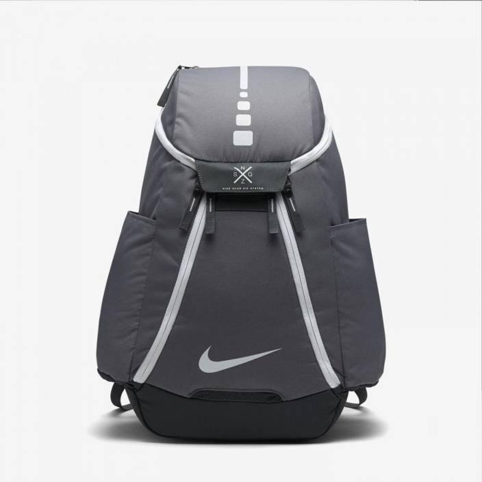 b2bab08cb1bd Nike Hps Elt Max Air-2.0 Grey Basketball 37 L Backpack Grey - Price ...