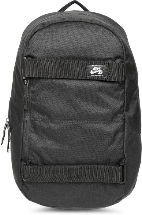 rozsądna cena najnowszy tanie z rabatem Nike Sb Crths Black Skateboarding 24 L Backpack Black ...