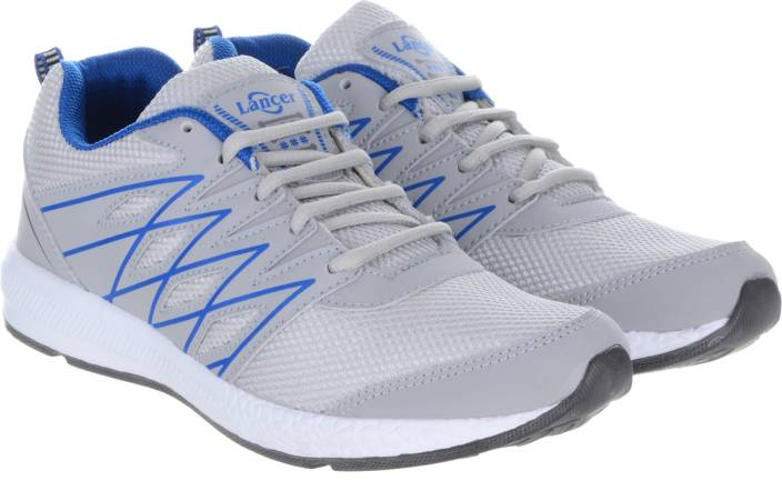 Lancer Walking Shoes For Men - Buy Grey Color Lancer Walking Shoes ... 10ef17599b71
