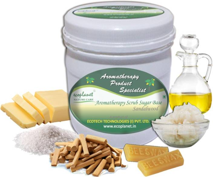 ecoplanet Aromatherapy Scrub Sugar Base Sandalwood Scrub