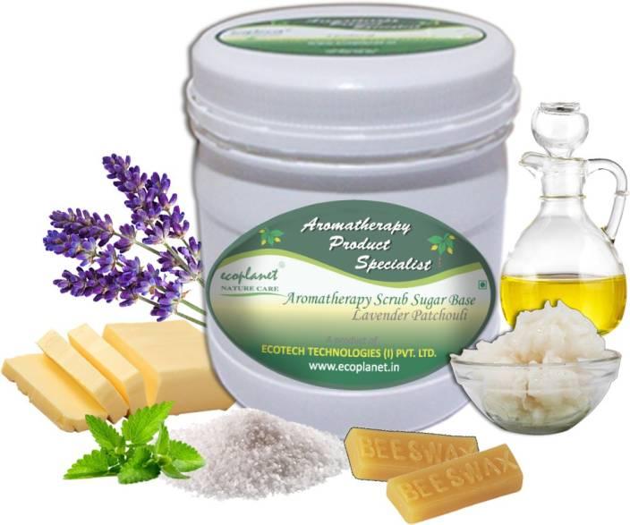 ecoplanet Aromatherapy Scrub Sugar Base Lavender Patchouli Scrub