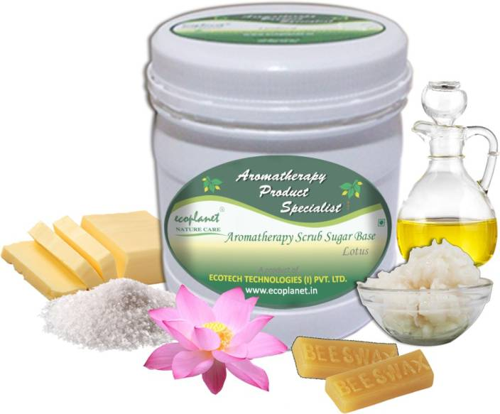 ecoplanet Aromatherapy Scrub Sugar Base Lotus Scrub