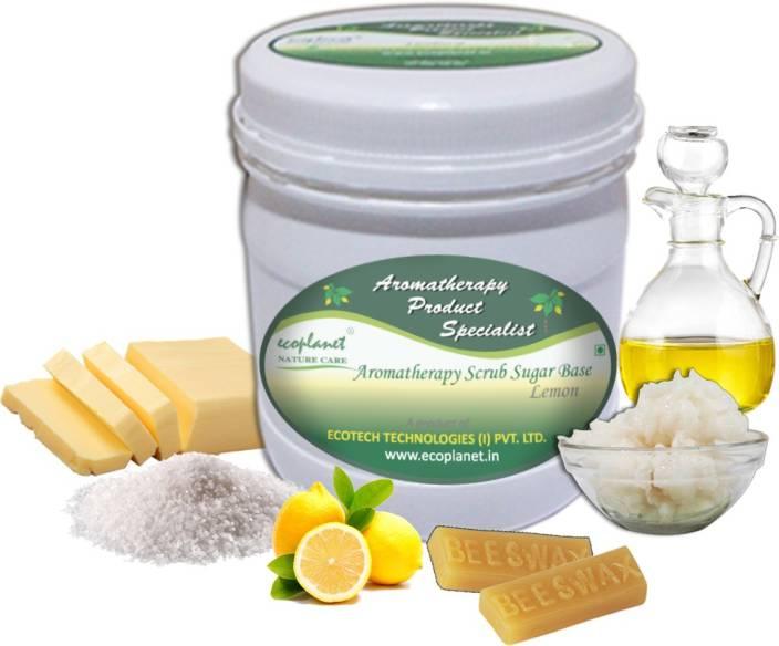ecoplanet Aromatherapy Scrub Sugar Base Lemon Scrub