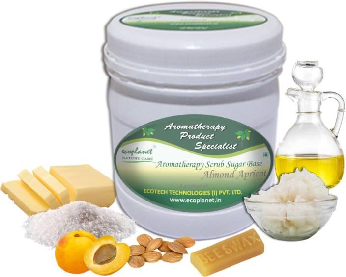 ecoplanet Aromatherapy Scrub Sugar Base Almond Apricot Scrub