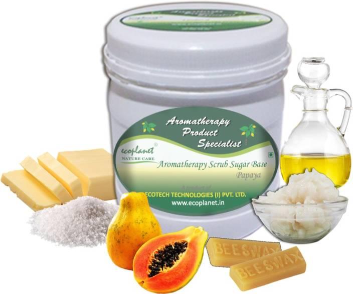 ecoplanet Aromatherapy Scrub Sugar Base Papaya Scrub
