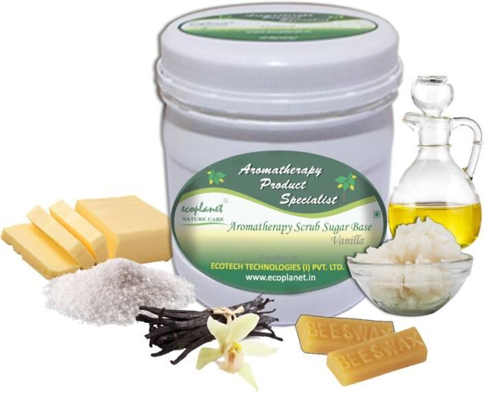 ecoplanet Aromatherapy Scrub Sugar Base Vanilla Scrub
