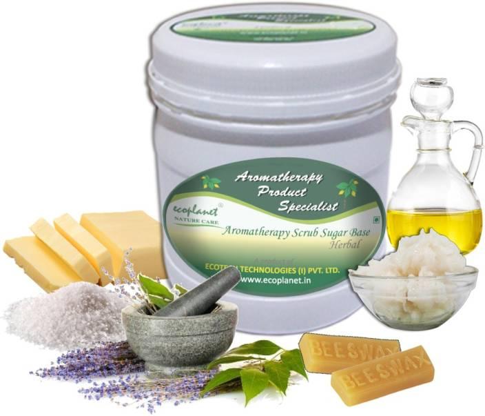 ecoplanet Aromatherapy Scrub Sugar Base Herbal Scrub