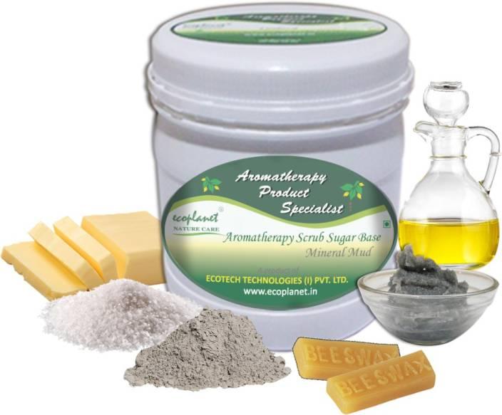 ecoplanet Aromatherapy Scrub Sugar Base Mineral Mud Scrub