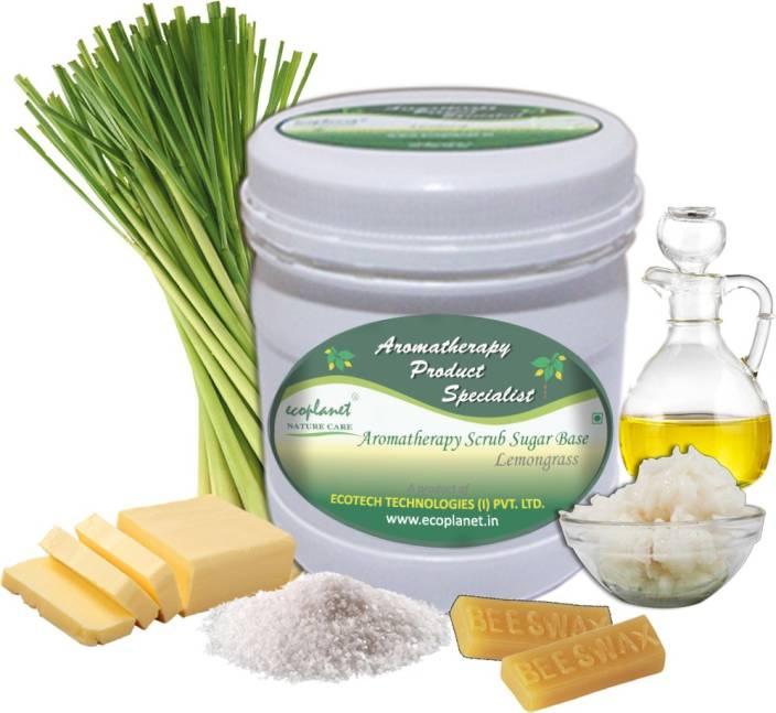 ecoplanet Aromatherapy Scrub Sugar Base Lemongrass Scrub