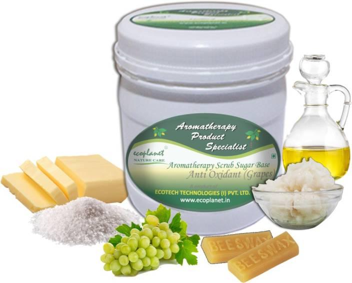 ecoplanet Aromatherapy Scrub Sugar Base Anti Oxidant (Grapes) Scrub
