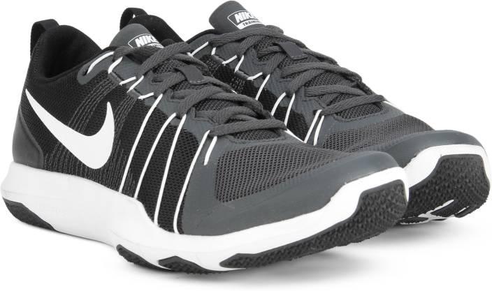 7809cd0dbfc Nike FLEX TRAIN AVER Training Shoes For Men - Buy BLACK WHITE Color ...